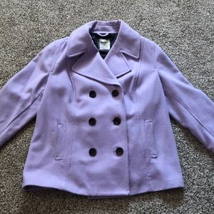 Lavender Old Navy PeaCoat